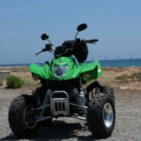 Arcticat Quad 300cc front view