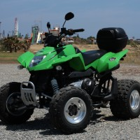 Arcticat Quad 300cc side view