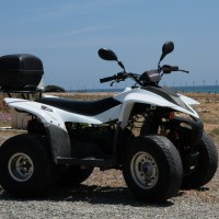 SMC Quad 100cc side view