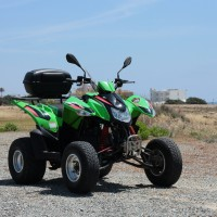 Access Quad 250cc front view