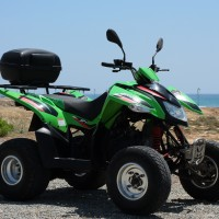 Access Quad 250cc side view
