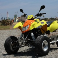 Access Quad 400cc front view