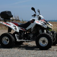 Adly Quad 200cc side view